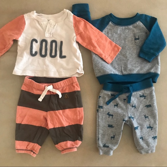 e7ea9e36a GAP Matching Sets | Old Navy 03 Month Cool Baby Boy Sweat Set | Poshmark